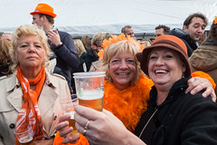 King's Day @ Mijdrecht (PaulHoo) Tags: people orange holland color colour netherlands closeup lumix day vibrant candid streetphotography kings 2016 streetcandid mijdrecht