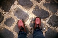 docs (chenb.reyes) Tags: red film lomo lomography shoes bricks doc docs martens