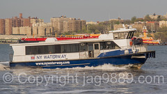 NY Waterway Ferry Boat on the Hudson River, Edgewater, New Jersey (jag9889) Tags: usa water ferry river boat newjersey ship unitedstates outdoor unitedstatesofamerica nj vessel hudsonriver edgewater waterway gardenstate ferryboat 2016 bergencounty nywaterway 07020 zip07020 moirasmith jag9889 20160421