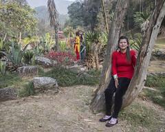 Uma in the National Botanical Gardens of Nepal in Kathmandu (Handicap International UK) Tags: nepal earthquake uma kathmandu survivors disability silwal