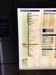 Minneapolis/St Paul Metro Blue Line map (Apr16) (airbus777) Tags: minnesota blueline map stpaul minneapolis msp diagram transit network lightrail metrotransit