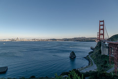 Golden Gate Bridge, San Francisco (john.gillespie) Tags: sanfrancisco california city bridge sunset landscape golden bay spring gate san francisco downtown afternoon waterfront goldengatebridge goldengate baybridge vsco