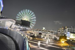 Porto de Nagoya (marcelo.nakazaki) Tags: japan arquitetura night noite japo aichi japon rodagigante sia portodenagoya