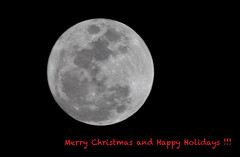 happy holidays ! (bluewavechris) Tags: christmas sky moon holiday hawaii fullmoon greeting lunar