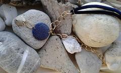 20160107_111946 (katerina66) Tags: necklace handmade jewellery polymerclay silkscreen handmadejewellery κολιέ κοσμήματα χειροποίητο velvetcord πολυμερικόσάργιλοσ