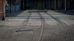 Vias (Oscar F. Hevia) Tags: espaa lines train tren spain geometry ruin asturias salinas ruina workshop taller naturalparadise roads parallel paralelas lineas geometria vias asturies castrilln principadodeasturias parasonatural elespartal