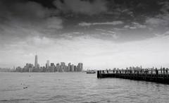 New York, Manhattan skyline, 4 (Patrick.Raymond (2M views)) Tags: nyc usa nikon tmax manhattan argentique expressyourself nikonflickraward