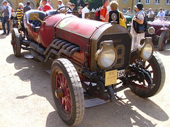 Locomobile Model 48 Racer 1916 (Zappadong) Tags: auto classic car racecar model automobile voiture days coche classics oldtimer schloss oldie carshow 48 racer 1916 youngtimer automobil 2015 locomobile dyck rennwagen oldtimertreffen zappadong