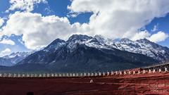 """Impression Lijiang"" (Rkitichai) Tags: china mountain snow landscape dancing outdoor performance zhang lijiang yimou naxi travelphotography impressionlijiang travelnutzmn"