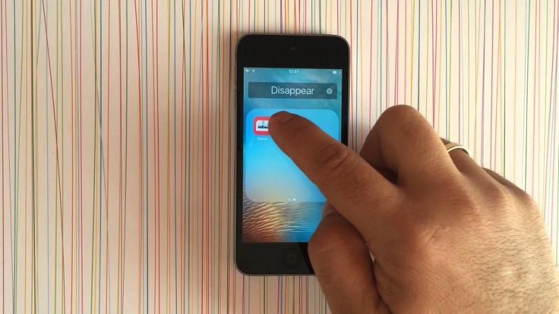 ងាយៗដើម្បីលាក់កម្មវិធី ឬហ្គេម មិនឲ្យគេដឹងលើ iOS 9 (មានវីដេអូ)