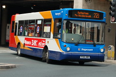 Stagecoach Volvo B6LE 31341 P341JND - Doncaster (dwb transport photos) Tags: bus volvo 200 alexander alx stagecoach doncaster 31341 p341jnd