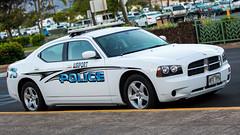 Maui Airport Police Dodge Charger (Rami Khanna-Prade) Tags: usa hawaii airport cops unitedstatesofamerica 911 police maui dodge charger mauiairportpolicedodgecharger