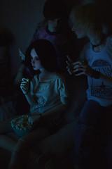 watching horror movie (nest_for_dreams) Tags: bernard sean nana bjd gregory euna elfdoll souldoll dollshe venitu 5thmotif