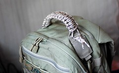 Paracord handle for 5.11 Rush backpack (Zoltan Hagg) Tags: backpack 511 paracord rushbackpack