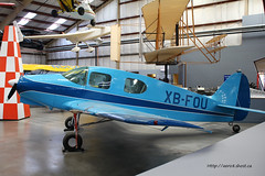 Bellanca 14-13-2 Cruisair Senior n 1551 ~ XB-FOU (Aero.passion DBC-1) Tags: senior museum plane tucson aircraft aviation muse pima preserved avion airmuseum bellanca airspacemuseum cruisair 14132 aeropassion musedelair dbc1 prserv xbfou