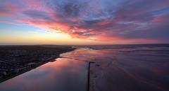 Before sunrise (Roger Ellison) Tags: morning sunrise dawn westkirby westkirbymarinelake
