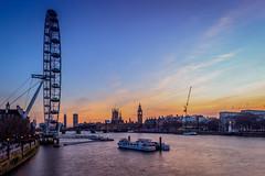 Sunset HC9Q3100-1a (rodwey2004) Tags: sunset landscape londoneye parliament bigben landmark westminsterbridge