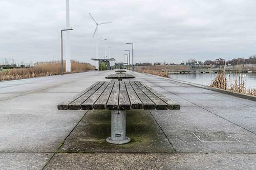 Wind Powered Public Park In Clongriffin Dublin [Father Collins Park]-110928