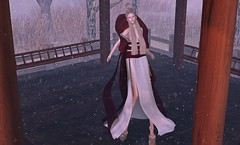 298. | A Japanese Winter (Taylor Wassep) Tags: winter japan japanese dress mesh secondlife kimono jomo littlebranch aii analogdog melonbunny taylorwassep we3roleplay we3rp