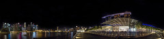 Marina Bay - 360 (diwan) Tags: light panorama skyline architecture night skyscraper canon geotagged eos google asia southeastasia stitch nacht outdoor singapur panoramix 360 lightroom wolkenkratzer langzeitbelichtung longexposures citystate 2015 ptgui republicofsingapore   stadtstaat canoneos650d islandcountry spivpano republiksingapur nikcollection geo:lon=103858159 geo:lat=1284046