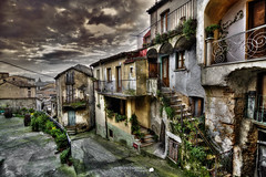 A small village in Calabria (Francesco Grisolia) Tags: world street city travel winter sky urban italy panorama house mountain art home colors lens landscape lights town photo nikon europe flickr italia mare foto village shot small country january panoramic case cielo highdefinition luci piccolo inverno colori viaggi strade borgo calabria hdr beatiful notripod paesaggio gennaio urbanlandscape citt presepe alleys vicoli paese 2016 highquality ionio viaggiando suditalia stradine calabrian nikonusa d7100 1116mm nikonitalia piccolopaese santacaterinadelloionio nikoneurope iamnikon nikond7100 asmallvillageincalabria