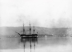 Cumberland Training Ship (Dundee City Archives) Tags: training river fire clyde industrial ship foundation frigate destroyed cumberland arson warship 1889 helensburgh cts hms royalnavy 1842