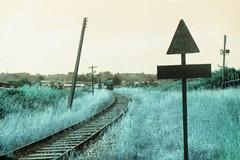 (vlΛиco iиvierиo) Tags: chile film train 35mm landscape lomo lomography turquoise grain zenit junkie