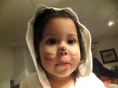 Una razn para vivir ...... (TeresalaLoba) Tags: kitten nia disfraz littlegirl gabriela gatita catmakeup peitieiros teresalaloba reinodegondor maquillajedegata gatita001
