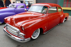 1951 Chevy Fleetline (bballchico) Tags: chevrolet chevy custom 1951 fleetline grandnationalroadstershow betorojas saturdaydrivein gnrs2016