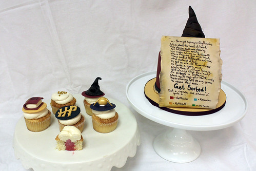 Harry Potter Sorting Cupcakes