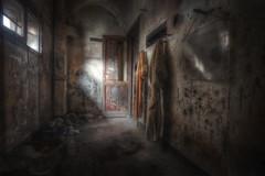""" Due uomini...una gamba!! "" (Giovanni Cedronella) Tags: door windows light abandoned architecture shadows forgotten dust dreem"
