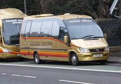 FXI 249 (Cammies Transport Photography) Tags: road england bus fountain mercedes benz scotland coach edinburgh rugby v executive specials 249 corstorphine unvi fxi fxi249
