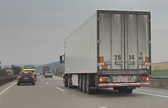 Kazakhstan, Karagandy Region - 2614 ML - Trailer (Mart LPS) Tags: plate license kazakhstan kz spotting