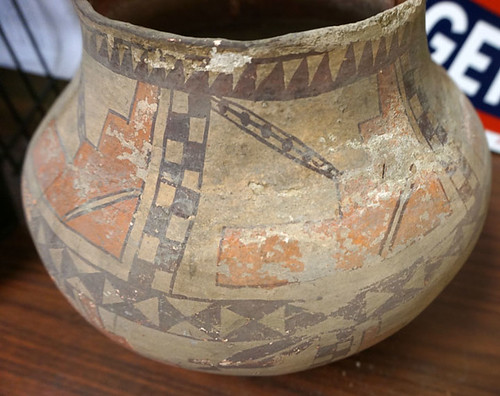 Native American Pottery $550.00