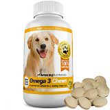 Amazing Omega-3 Rich Fish Oil 100% Pure All-Natural - Unscented Premium Food Grade Pet Nutritional Supplements - Antioxidant Fatty Acids - Promotes Shiny Coat, Bone, Joint and Brain Health - 120 Tasty Chewable Tablets Your Dog Will Love (trolleytrends) Tags: food fish love amazing shiny natural coat omega rich tasty brain grade health your will fatty bone pure premium joint tablets acids supplements antioxidant unscented nutritional chewable promotes