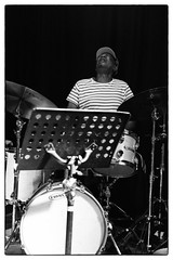 Louis Moholo-Moholo's Five Blokes @ Vortex Jazz Club, London, 16th March 2016 (fabiolug) Tags: leica blackandwhite bw music vortex london monochrome zeiss drums 50mm blackwhite concert live gig livemusic performance jazz rangefinder drummer monochrom johnedwards biancoenero dalston sonnar freejazz leicam zeisssonnar 50mmf15 jasonyarde alexanderhawkins fiveblokes louismoholo vortexjazzclub sonnar50mm fourblokes shabakahutchings zeisscsonnar louismoholomoholo zeisszm50mmf15csonnar mmonochrom leicammonochrom leicamonochrom zeisscsonnartf1550mmzm vortexjazz