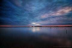 - ode al silenzio - (swaily ◘ Claudio Parente) Tags: lago nikon nuvole tuscany toscana riflessi maremma laghi oasiwwf lagodiburano nikond300 swaily maremmans