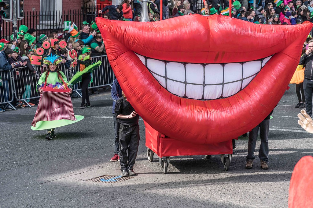 ARTISTIC AT THE ST. PATRICK'S DAY PARADE [MARCH 17 2016]--112462