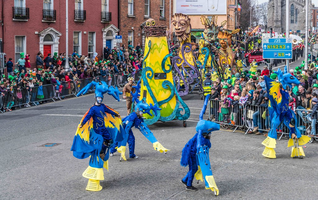 Dowtcha Puppet's At The St.Patrick's Parade [Dublin 2016]-112506