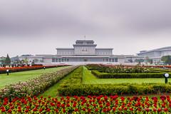 Kumsusan Palace of the Sun (reubenteo) Tags: sunset building sunrise landscape asia korea communist communism kimjongil socialist socialism northkorea pyongyang kimilsung kimjongun