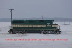 IARR 3004 (eslade4) Tags: snow ex gp30 ple excnw iarr iowariverrailroad iarr3004 exmstl pinelakeethanol exiac exarzc