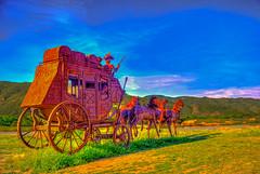 Stagecoach (Michael F. Nyiri) Tags: california sculpture art desert anzaborrego southerncalifornia metalsculpture temeculacalifornia ricardobreceda
