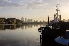 River Thames, London (JGMarshall Photography) Tags: city morning travel england house reflection london english nature beautiful dutch thames architecture towerbridge canon river photography boat still interesting britain naturallight explore photograph dslr barge
