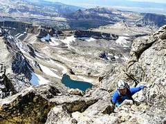 Couple hundred feet from the Middle Teton summit. #hikenorthidaho #ig_idaho #pnw #idahoadventures #idahoexplored #upperleftusa  #peakbagger #peakbagging #middleteton