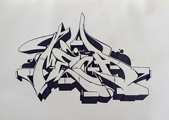 Mega Part 2 (cAuSetuRk) Tags: art graffiti sketch style mega blackbook abk balcans stilbaz causeturk