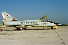 USAF, Convair F-106B Delta Dart (Ron Monroe) Tags: usaf interceptor convair unitedstatesairforce f106 deltadart tyndalafb 072536 williamtell1972