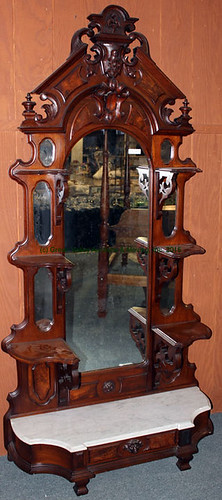 Victorian Walnut Etagere - $907.50 (Sold March 20, 2015)