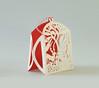 (Elsita (Elsa Mora)) Tags: christmas paperart card redandwhite papercraft holidaycard papercutout elsita papercutting elsamora