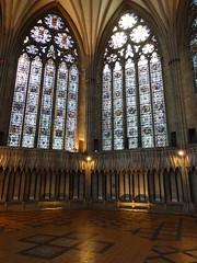York Minster (deadmanjones) Tags: yorkminster stainedglasswindow chapterhouse tiledfloor floortile cathedralandmetropoliticalchurchofsaintpeter