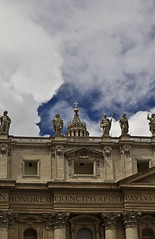 A2880VATb (preacher43) Tags: italy pope vatican rome building history church fountain st architecture facade square francis paul outdoor basilica columns saints egyptian obelisk christianity peters bernini colonnade maderno
